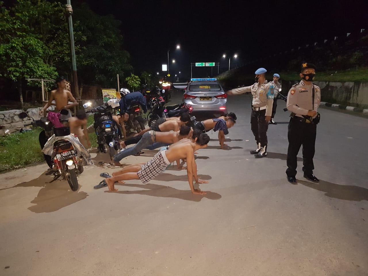 Marak Kriminalitas, Polsek Labuapi Intensifkan Patroli Malam