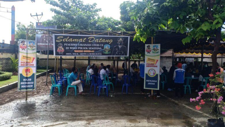Polsek Sekotong Fasilitasi Vaksinasi Para Tokoh Agama di Kecamatan Sekotong