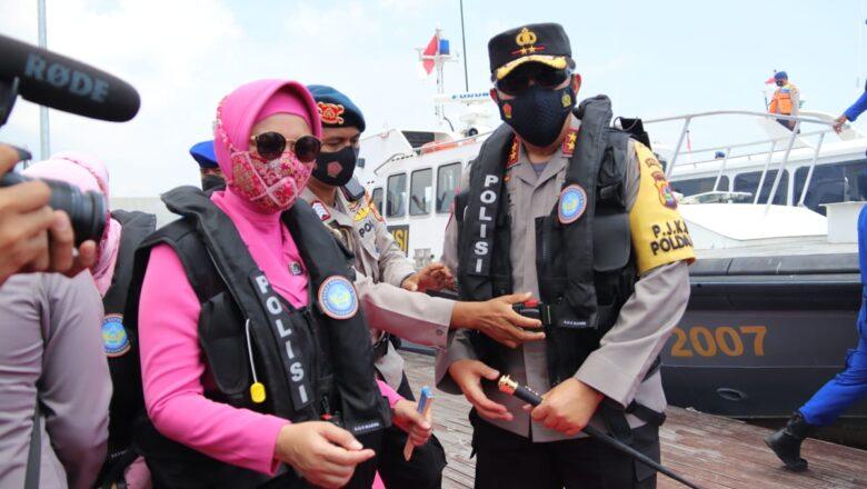 Polda NTB Resmikan Dua Program dan Peluncuran Perdan Kapal Polairud Polda NTB Serta Resmikan Tempat Belajar di Teluk Gok
