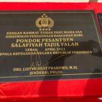 Kapolri Kunjungi Ponpes  Salafiyah Tajul Falah Banten, Pastikan Perhatian dan Kecintaan kepada Ulama dan Tokoh Masyarakat